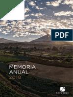 Memoria 32 Anual Sociedad Minera Cerro Verde