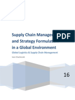 Supply chain management and strategy formulation.docx