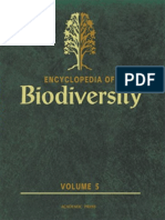 Encyclopedia of Biodiversity - Vol. 5
