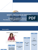 W6 - Packaging and Handling