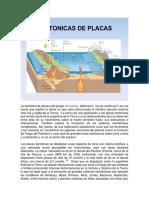 Tectonica de Las Placas .