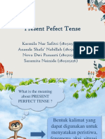 Present Pefect Tense