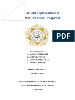 MAKALAH AHLAQUL KARIMAH.docx