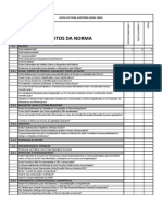 Check List Auditoria OHSAS 18001