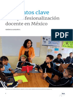 Historia de la profesionalización docente