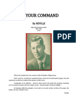 6106819 Neville Goddard at Your Command