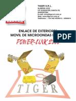 MANUAL ENLACE DE MICROONDAS TIGER MODELOS 2000 y 3000