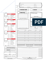DnD 5e Star wars Character sheet
