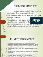 MÉTODO SIMPLEX BY