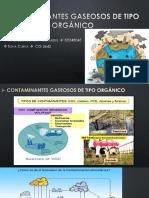 Contaminantes atmosféricos de tipo orgánicos