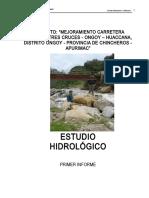 Geología y Geotecnia Carretera Tres Cruces - Ongoy - Huaccana
