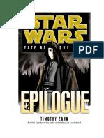 El destino de los Jedi - Epilogo