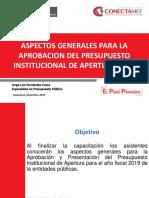 PPT Lineamientos Generales PIA 2019