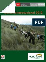 Proyecto Sierra y Selva Alta MEMORIA INSTITUCIONAL 2012.pdf