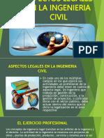 Aspectos Legales en Al Ingenieria Civil