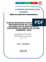 Plan - Imp. Curriculo - 2019