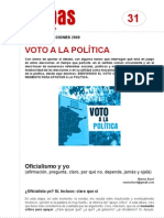 FichaMapas031 - Voto a la política