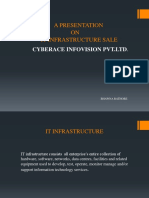 IT Infra structure Sale