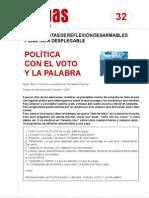 FichaMapas032 - Política con el voto y la palabra