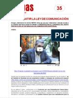 FichaMapas035 - Para debatir la ley de comunicación
