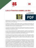 FichaMapas038 - Los 21 puntos sobre las íes