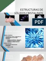 Estructuras de Solidos Cristalinos