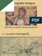 Historiografía Antigua