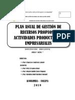 PLAN ANUAL DE GESTION DE RECURSOS PROPIOS Y ACTIVIDADES EMPRESARIALES 2019.docx
