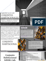 EJEMPLOS DE CONJUNTOS HABITACIONALES ...pptx