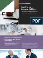 BrochureMaestriaenGerenciaPublica