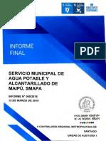 Servicio municipal de agua potable y alcantarillado de Maipú, SMAPA