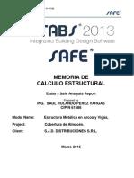 Etabs - Manual de Calculo de techo parabólico