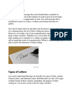 How to write letter By MK.docx