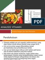 2019 (8) Analisis Vitamin