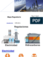 Mapa Regulatorio CRE