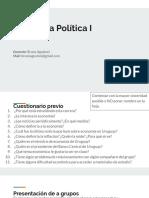 Economia Politica para estudiantes de Tecnico prevencionista