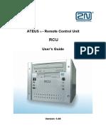 RCU-User Guide v5.00