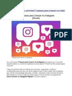 → 7 Passos Para Crescer No Instagram [Ebook] ( Como Crescer no Instagram Rápido)