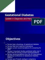 Gestational Diabetes 2010