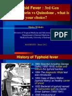 3. Prof Djoko. Typhoid ,3rd Gen Ceph & Quinolone