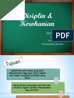 K 6 Disiplin Dan Kerohanian
