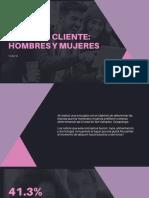 Perfil de Cliente_ Hombres y Mujeres