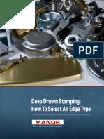 Deep Drawn Stamping