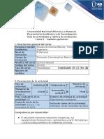 Guía de actividades y rúbrica de evaluación - Tarea 3 - Cambios químicos.docx