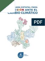Programa Estatal Para La Accion Ante El Cambio Climatico Peacc 1