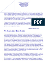 Vedanta and Buddhism -Von Glasenapp