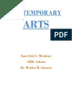 CONTEMPORARY ARTS ngayon.docx