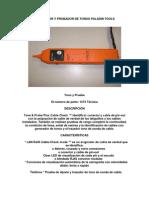 Generador y Probador de Tonos Paladin Tools