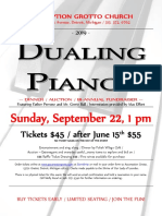 Dualing Piano Small Poster 2019 IV