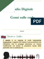 FS Lez A1 - Audio Digitale - Cenni Sulle Onde